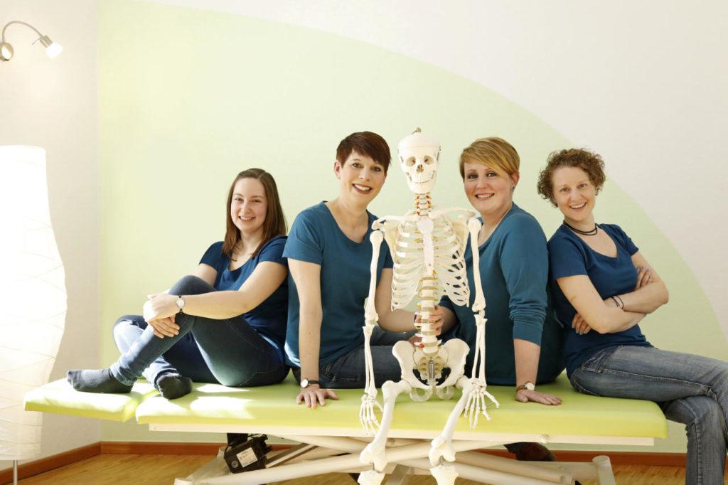 Ergotherapeuten der Praxis für Ergotherapie - Standort Neckarstadt